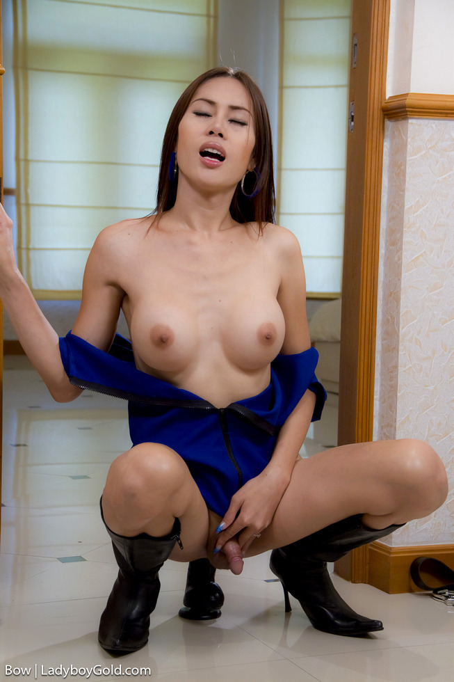 Asian Femboy Bow