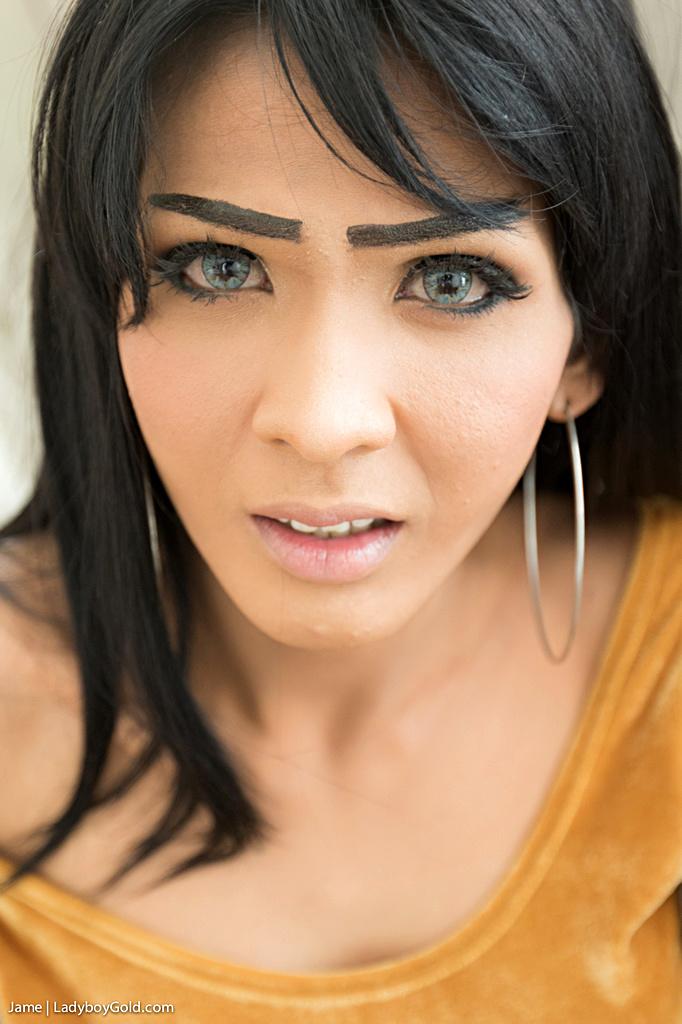 Asian Shemale Jame Barebacked