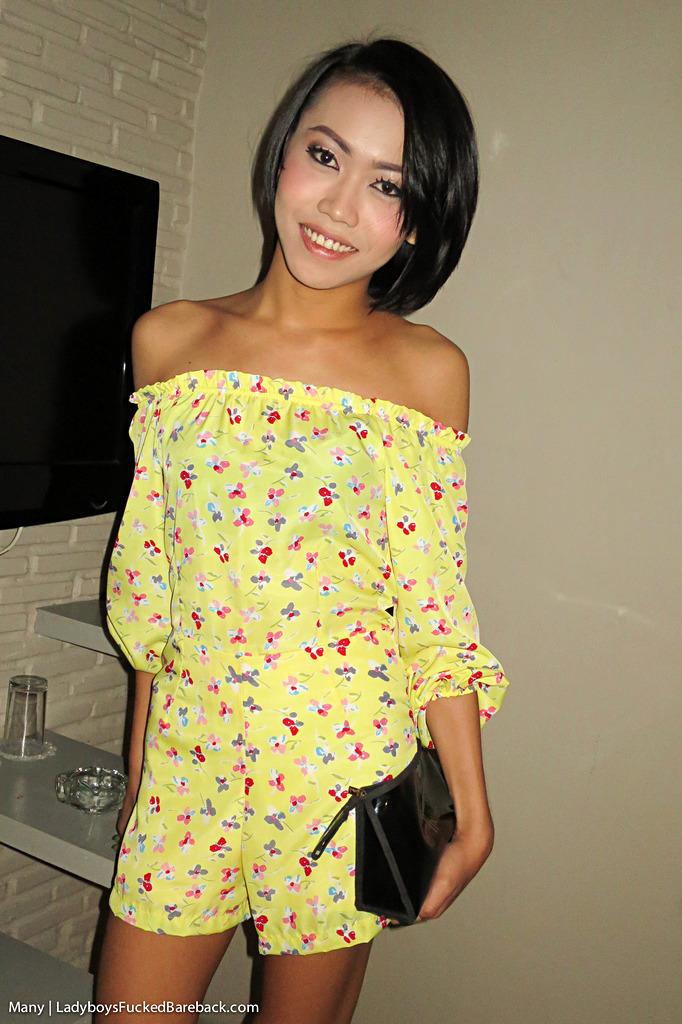 Asian T-Girl Many Bare Back