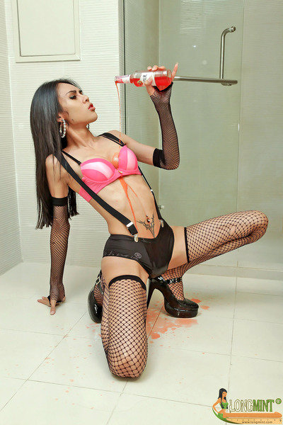 Asian Tgirl Long Mint - Drunkbath Asgka