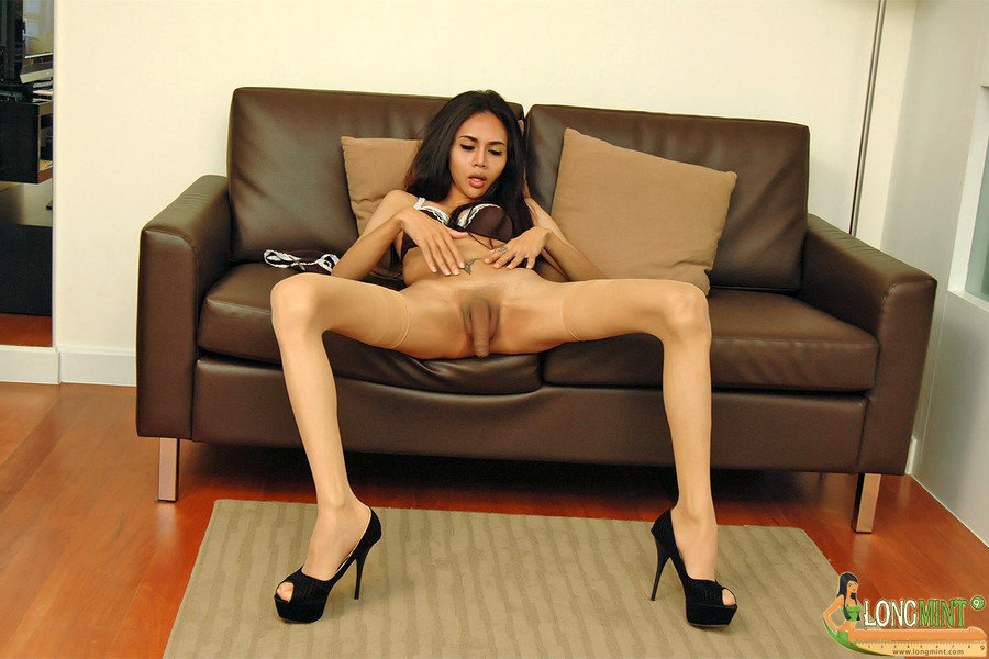 Asian Tgirl Long Mint - Measured Pfsep