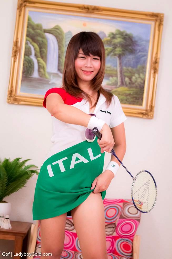 Bangkok Femboy Gof - Gof Badminton Babe