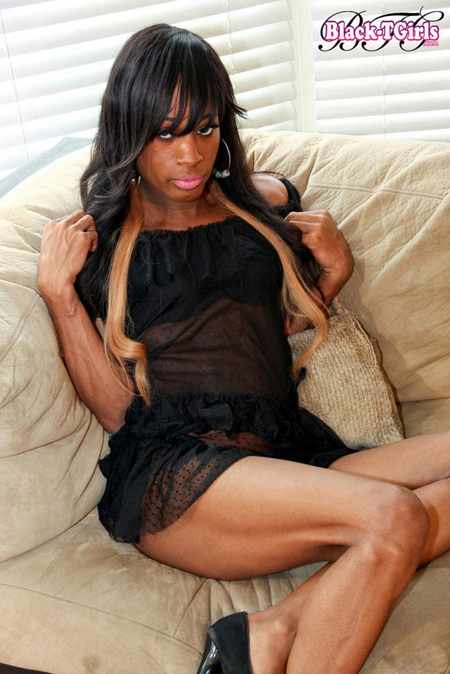 Black Femboy Hazel Woods