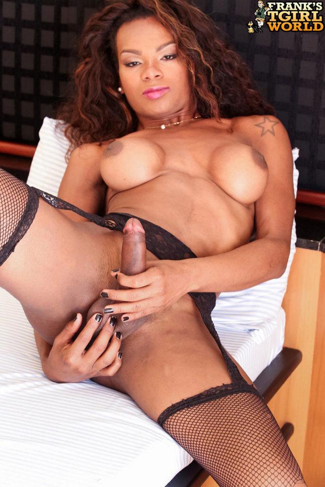 Black T-Girl Adelaide Novaes