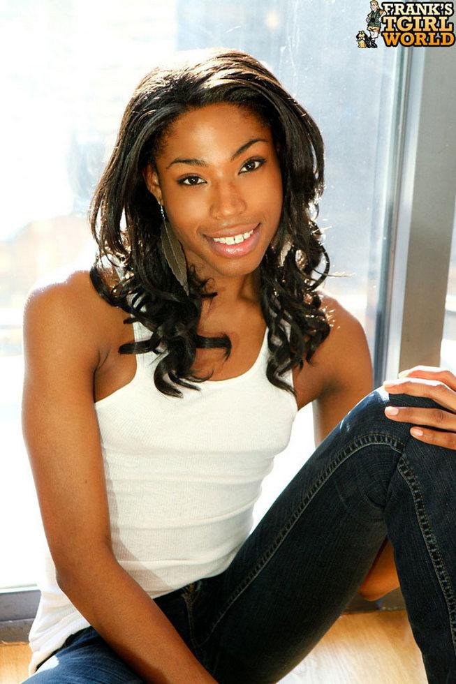 Black T-Girl Adriana