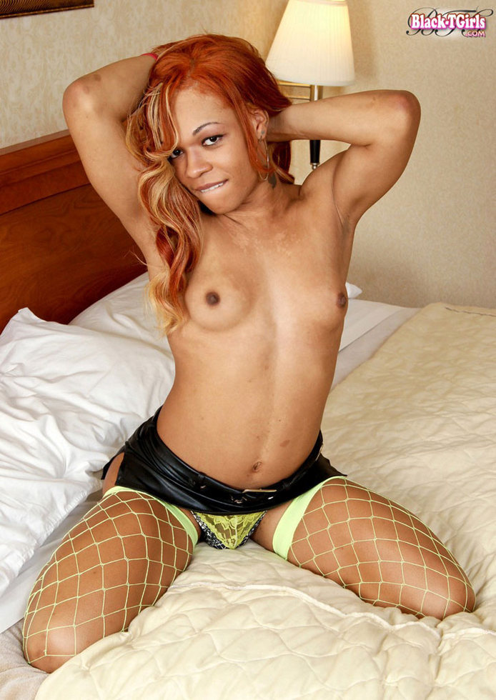 Black T-Girl Candi Love