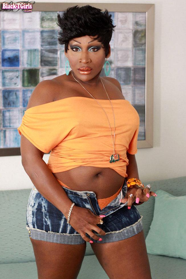 Black T-Girl Lady Godiva - Lady Godiva