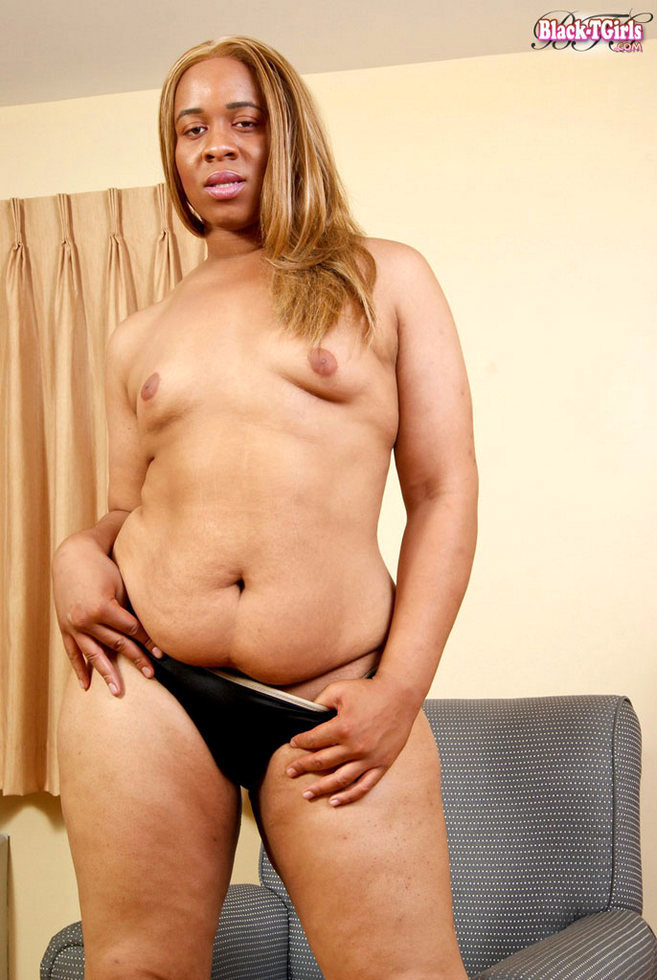 Black T-Girl Lisa Lustful