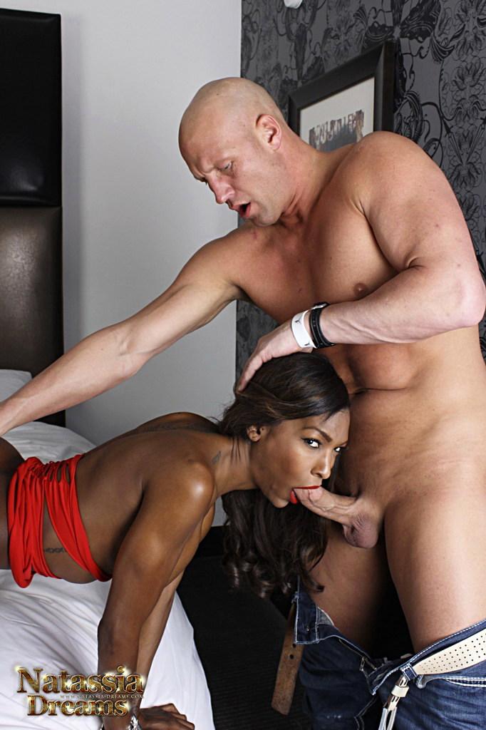 Black T-Girl Natassia Fantasies - Flirtatious Provoking Sex Pic Tfg Tfd