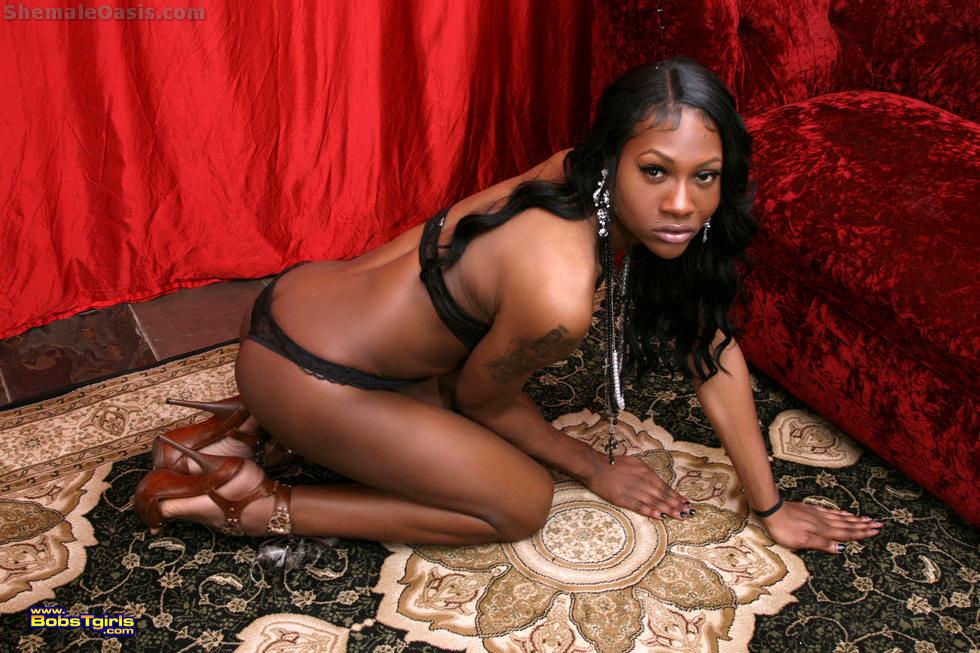 Black T-Girl Phoenix