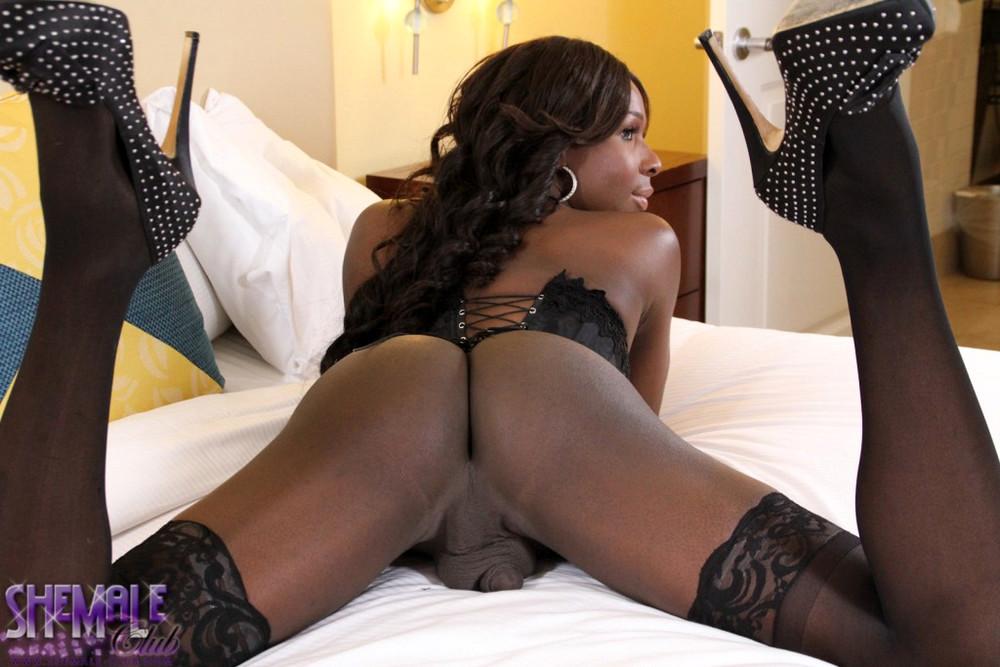 Black Tgirl Alyssa - Alyssa