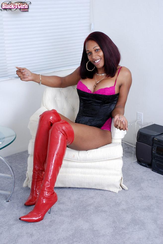 Black Tgirl Athena
