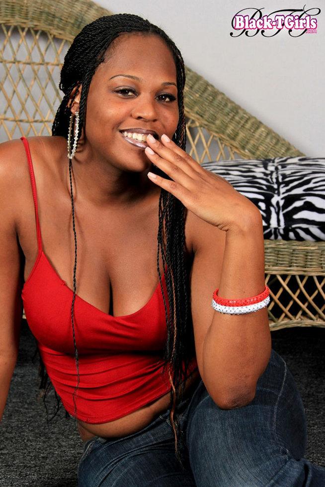 Black Tgirl Brownie