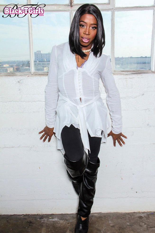 Black Tgirl Epiphany