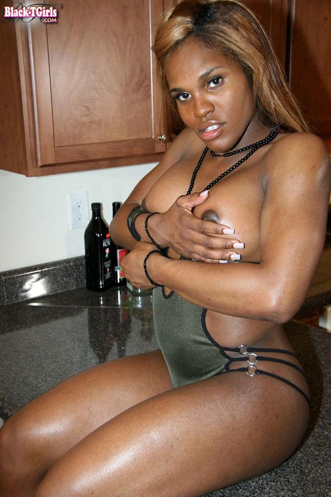 Black Tgirl Logan