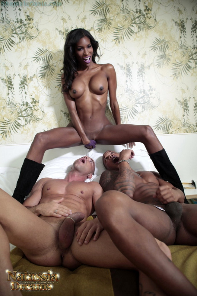 Black Tgirl Natassia Fantasies - Natassia Anthony And Tony