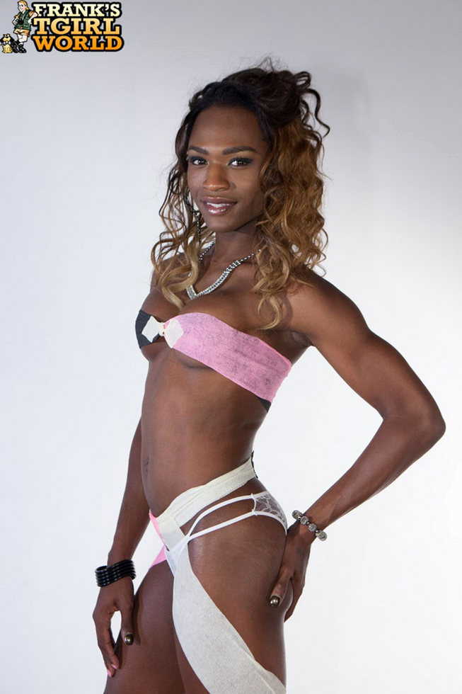 Black Transexual Chanel Couture - Chanel Couture Black Stripper