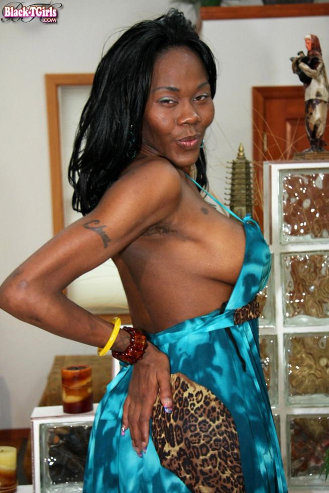 Black T-Girl China Doll