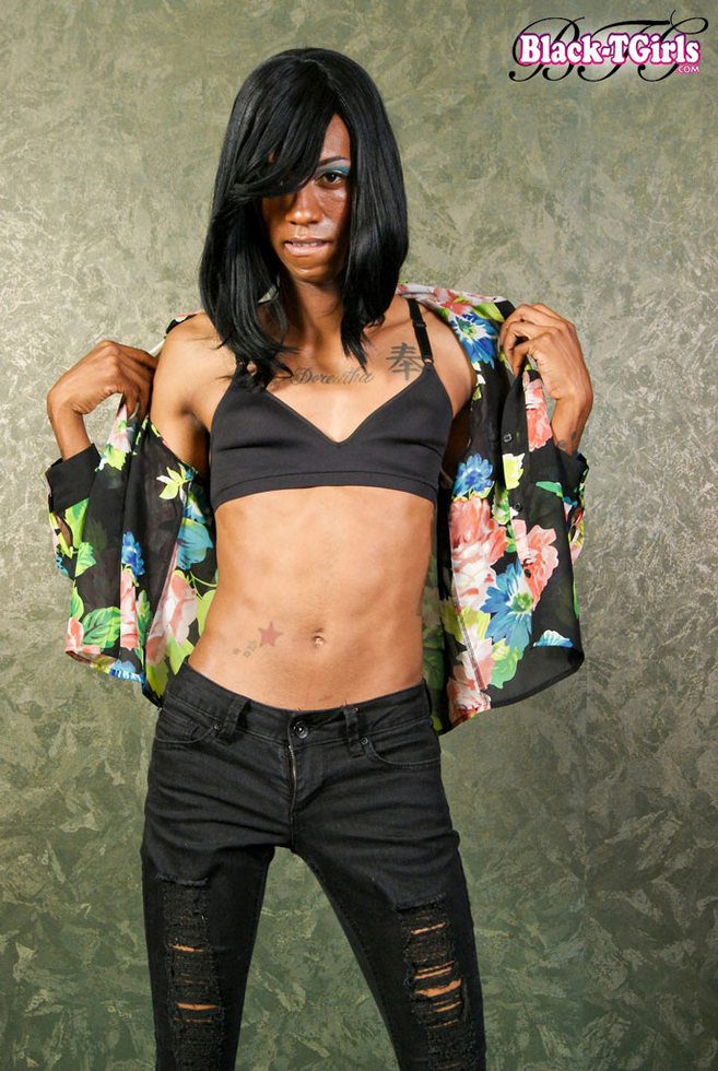 Black Transexual Dazia Kockdazian