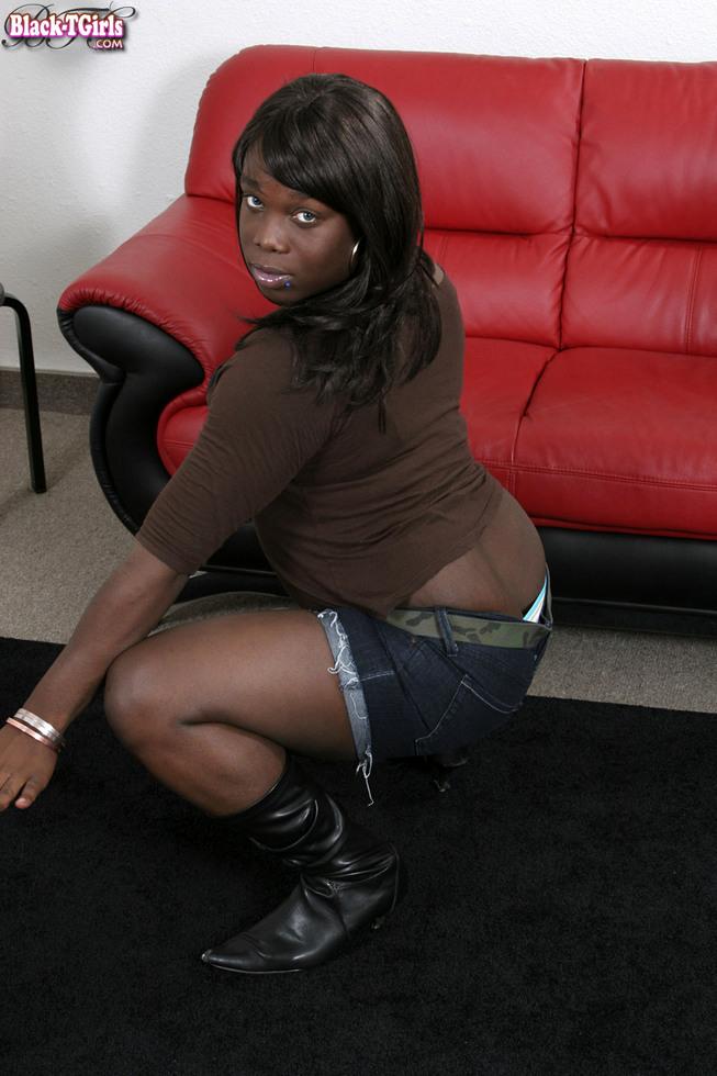 Black Transexual Gazel - Gazel