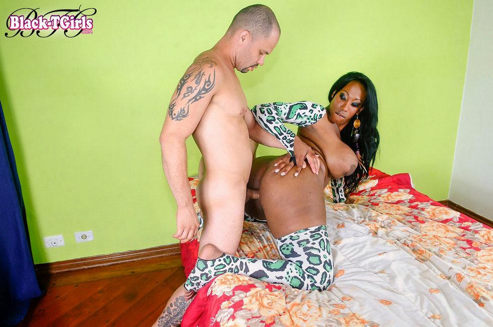 Black Transexual Jackeline Boing Boing