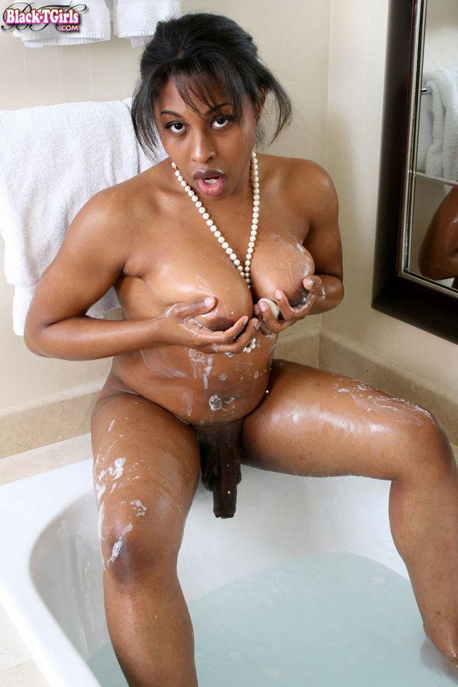 Black Transexual Katie Cokks