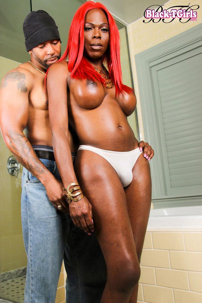 Black Transexual Vivian Spice