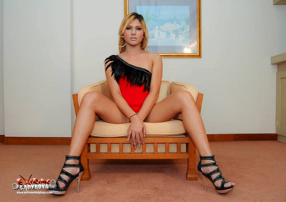 Blonde T-Girl Art