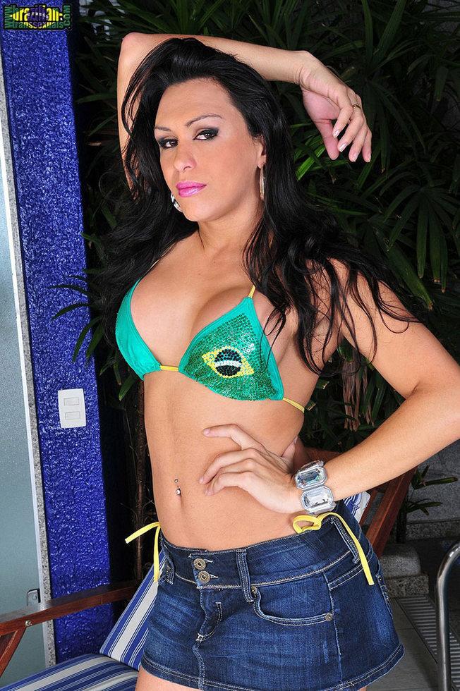 Brazilian Ladyboy Ivana Spears