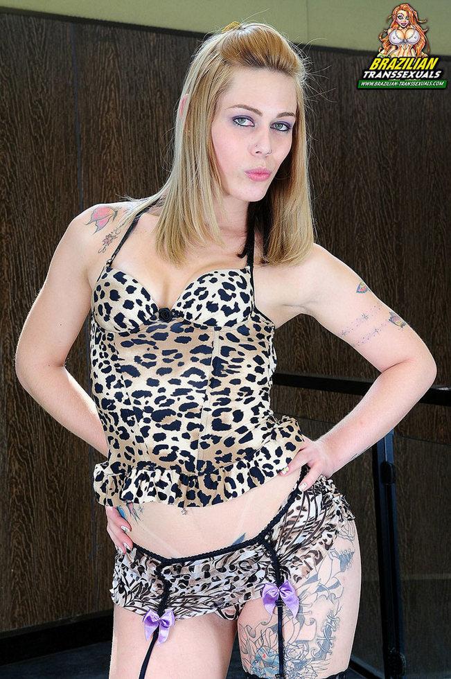 Brazilian T-Girl Carla Cardille - Carla Cardille Non Nude