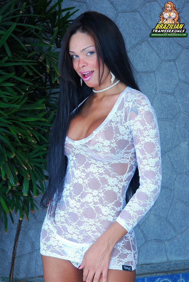 Brazilian Tgirl Juliana Vidal - Juliana Vidal Lace