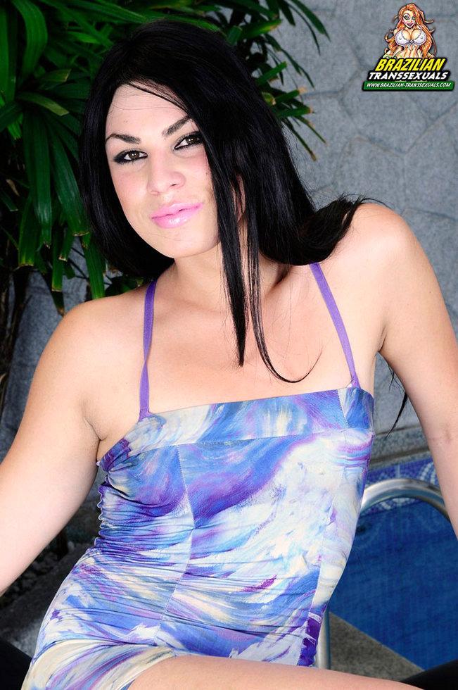 Brazilian Tgirl Sabrina Xavier