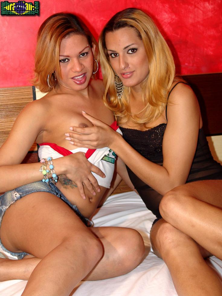 Brazilian TGirls Drielly & Renata