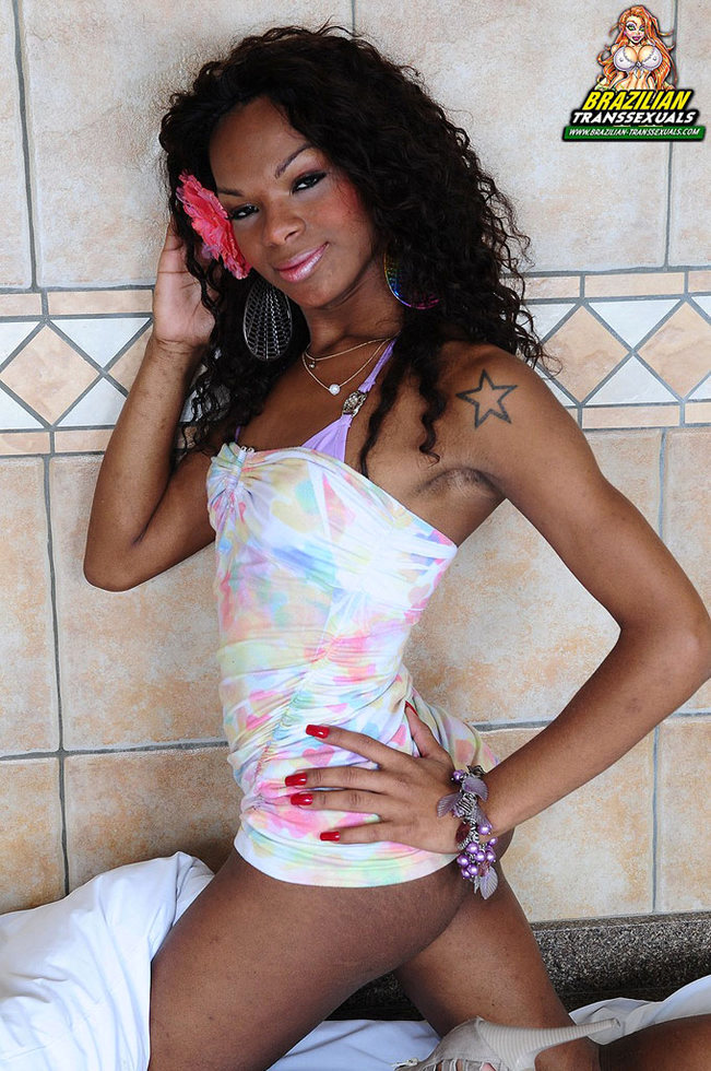 Brazilian Transexual Adelaide Novaes