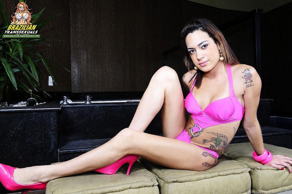 Brazilian Transexual Patricia Andrade