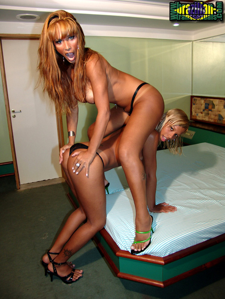 Brazilian Transexuals Domy & Stephanie