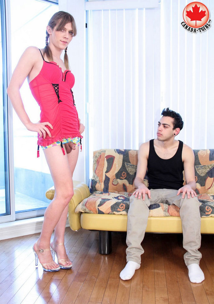 Canadian T-Girl Casey Lay - Casey Lay Ruined