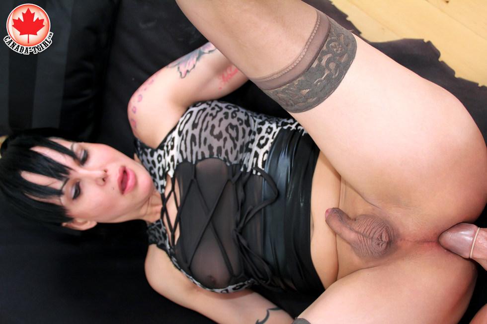 Canadian Tgirl Alyssa