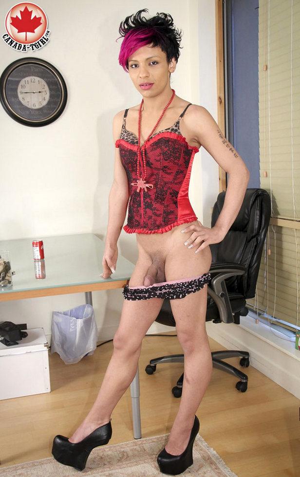 Canadian Tgirl Nicki
