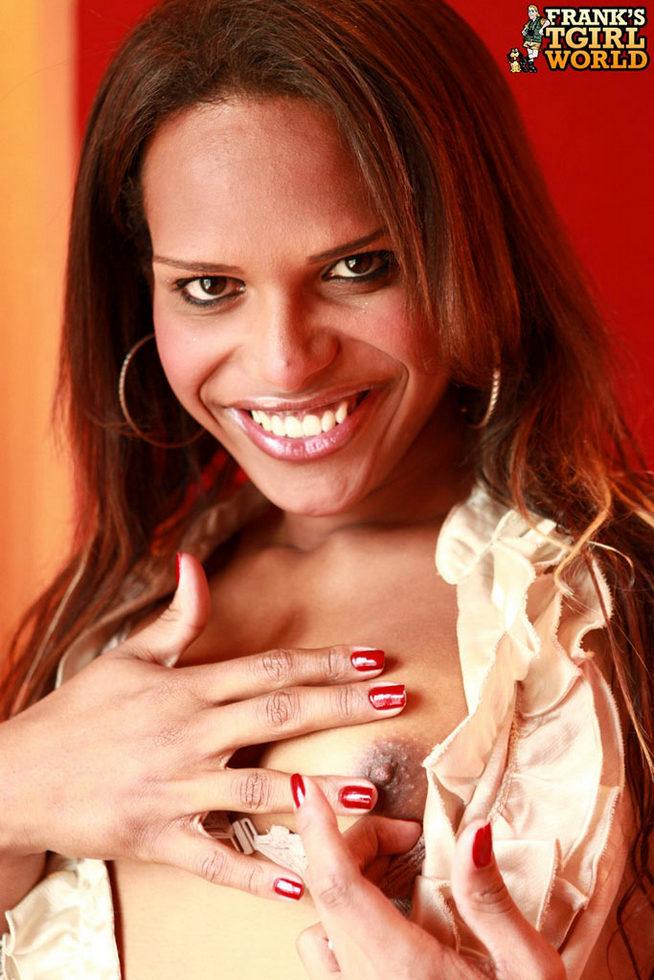 Dark Skinned T-Girl Melanie Campbell