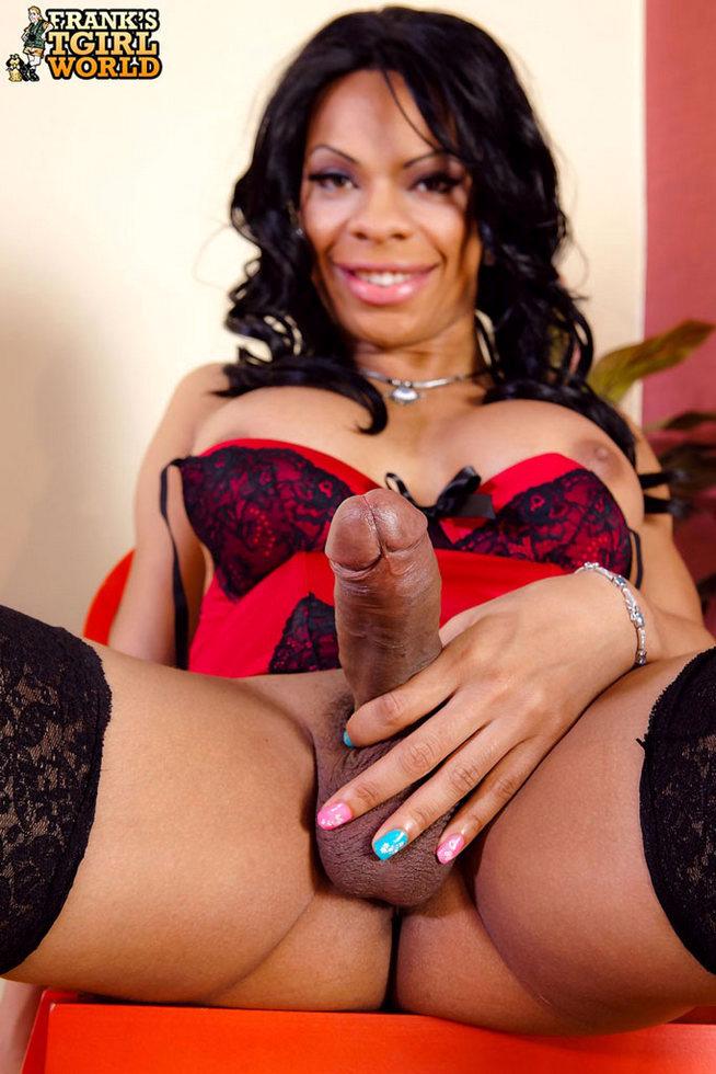Ebony Femboy Sasha - Sasha Stroke's Is She