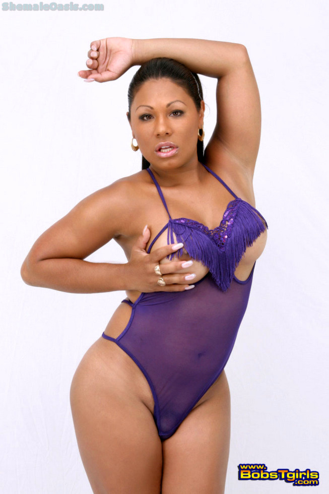 Ebony Tgirl Doll