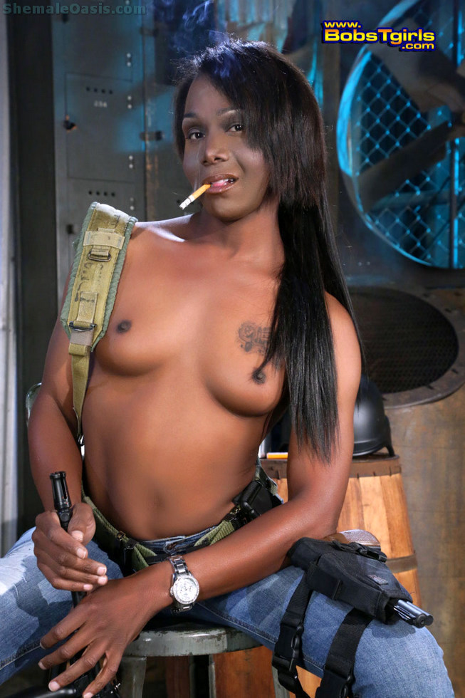 Ebony Tgirl Sanaa
