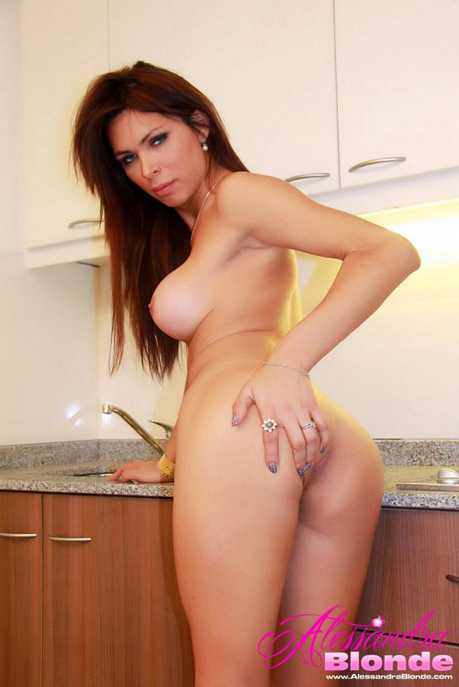 Femboy Alessandra Blonde - Nakedkitchencount
