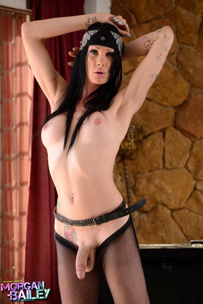Femboy Morgan Bailey - Rockstar Morgan