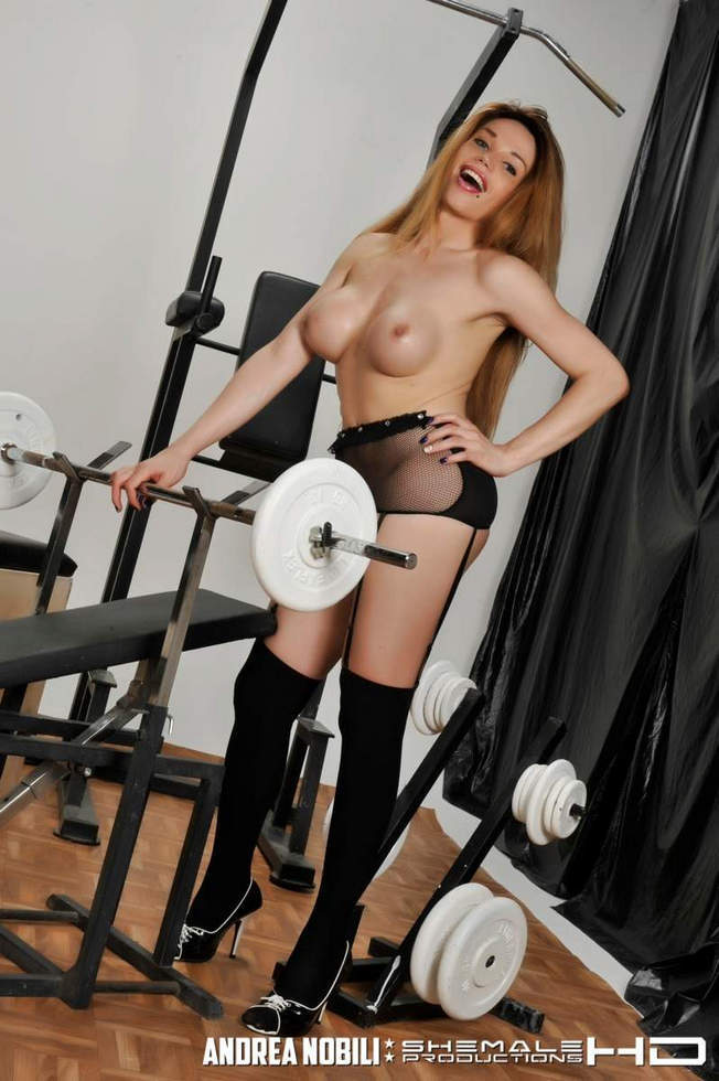 Italian T-Girl Angelica