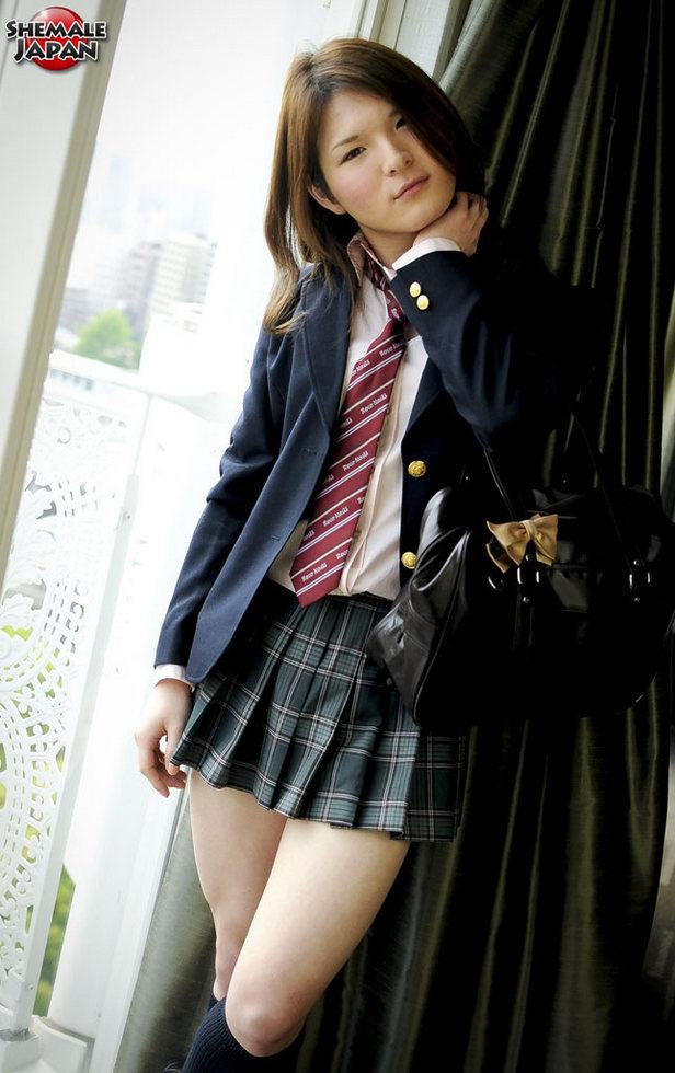 Japanese T-Girl Kaoru Shirashi