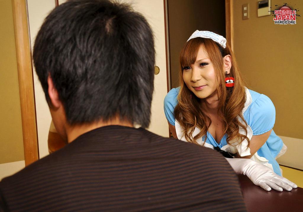 Japanese T-Girl Yuu Hoshibana
