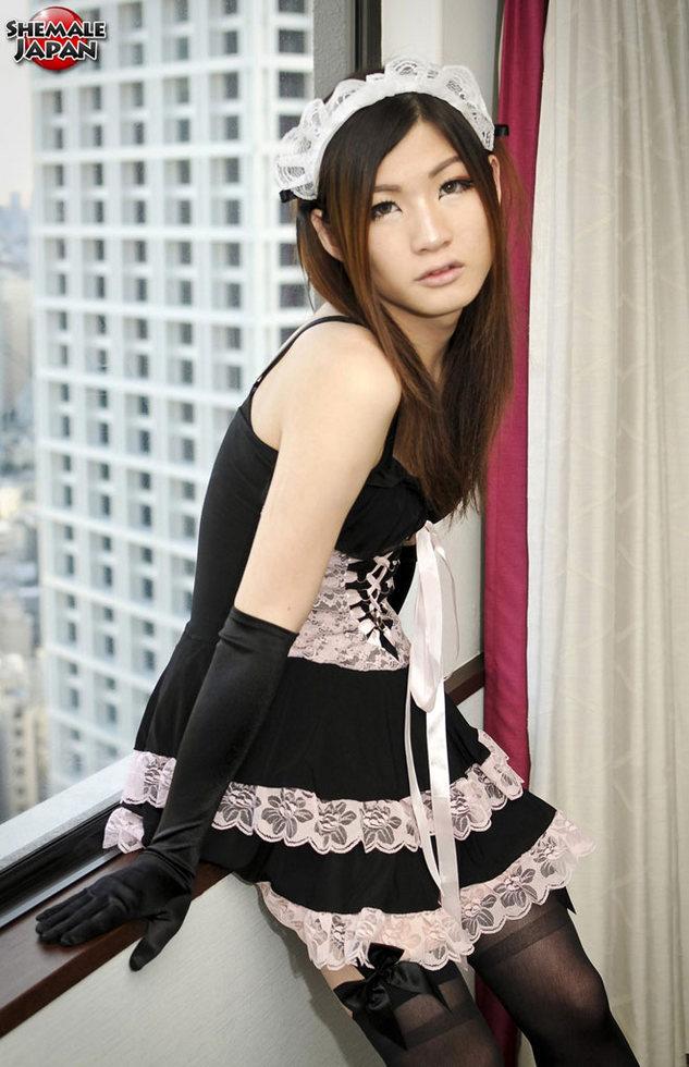 Japanese Tgirl Mako