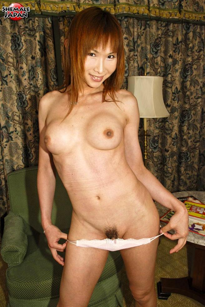 Japanese Tgirl Miki - Miki Gets Naked